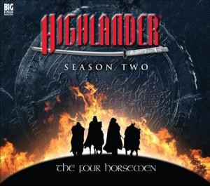Highlander - The Four Horsemen box set cover