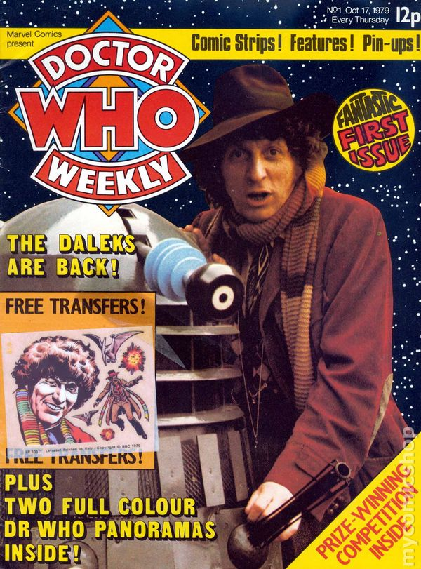 Doctor Who Weekly number 1